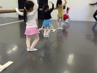 4月:キッズバレエ 無料体験会